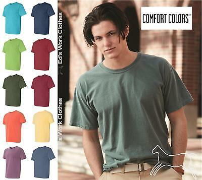 Comfort Colors Mens Cotton Blank Pigment Dyed Short Sleeve T Shirt 1717 up to 3X