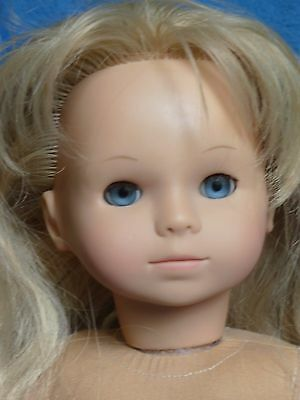 """Gotz Jessica Doll Precious Day rooted Blonde Hair Blue Eyes little sister 18"""""""