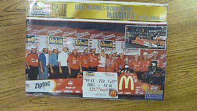 Revell Monogram McDonald's Top Fuel Dragster Limited Edition 1:25 scale MIB