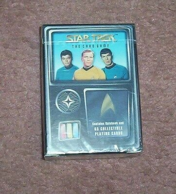 New Star Trek The Card Game Rulebook 65 Collectible Playing Cards