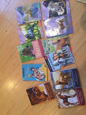 Lot Of 11 Books About Horses  Mate In The Meadow Bella Sara King Of Wind J Horse