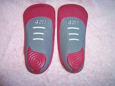 Dr Scholls CF 420 Custom Fit Classic Orthotic Inserts Footmapping Insoles NIB