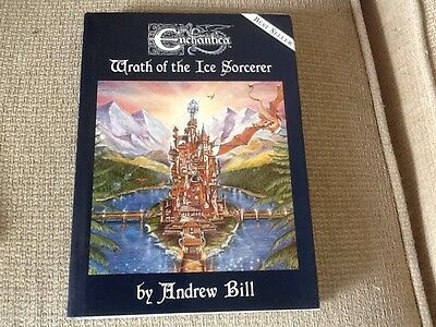 Enchantica Book  Wrath Of The Ice Sorcerer By Andrew Bill Signed