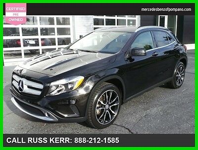 2016 Mercedes-Benz Other GLA 250 2016 GLA 250 Used Certified Turbo 2L I4 16V Automatic All Wheel Drive SUV