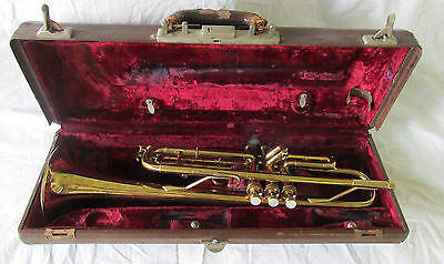Vintage 1945 King H.N. White Liberty Bb Trumpet Cleveland Brass