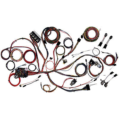 American Autowire 510125 Mustang Comp Wiring Classic Kit 1965-1966