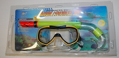 Snorkel Adult 5325Yellow Goggle Mask Goggles & Snorkeling