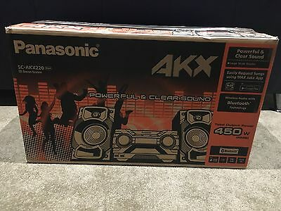 New- still in box- Panasonic CD Stereo System SC-AKX220
