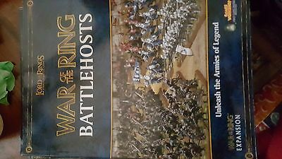 warhammer,lotr, ALL FIVE SOURCE BOOKS PLUS BATTLEHOST. (ALL INFO ON EVERY UNIT)