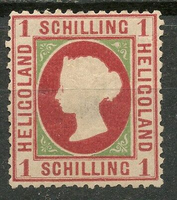 HELIGOLAND 1s Die III MH* STAMP SG8 -CAG 050317