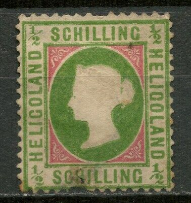 HELIGOLAND 1869-73 1/2s Die II MH* STAMP -CAG 050317