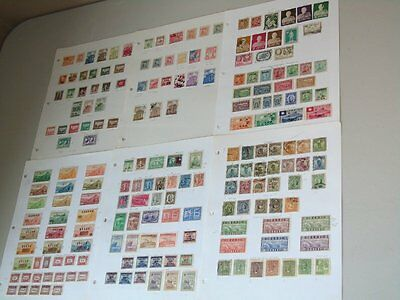 Stamp Pickers China Empire ROC PRC Album Collection Estate Lot $300+