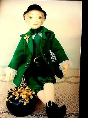 "Cloth Doll Pattern ""Liam""   The Lucky Leprechaun.  by Judith Prior"