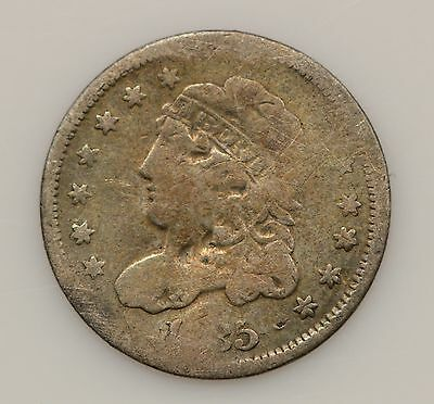 1835 Capped Bust *Small Date & 5 C* Silver Half Dime *G30