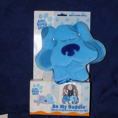NEW-Baby Blues Clues- BE MY BUDDY SECURITY BLANKET