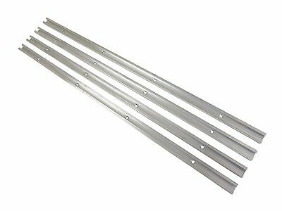 "Lot 4, 24"" Aluminum T Track 3/4"" x 3/8"" Accepts 1/4"" Hex, 1/4"" & 5/16"" T Bolts"