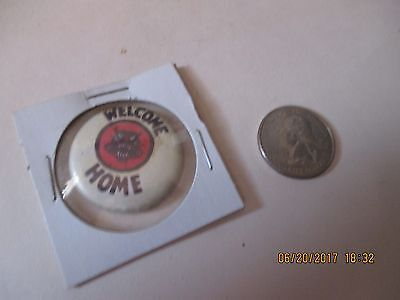 Original Wwii   Welcome Home D-Day Tank Destroyer Panther  Button