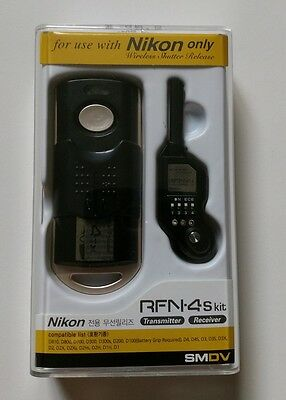 SMDV Wireless Shutter Release RFN 4s for Nikon