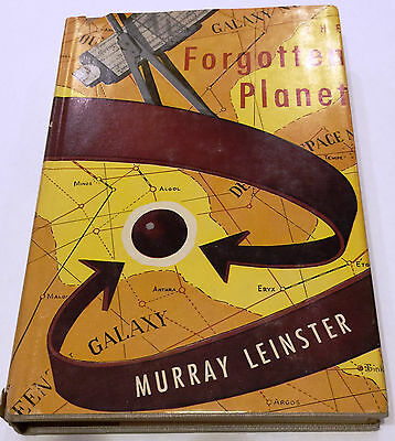 1954 Murray Leinster The Forgotten Planet First Edition Book Gnome Press