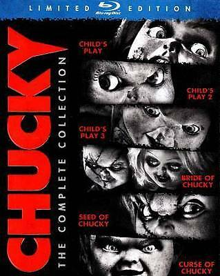 Chucky: The Complete Collection (Blu-ray Disc, 2013, 6-Disc Set)