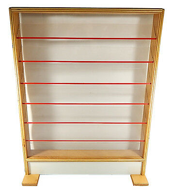 Wood & Acrylic Retail Counter Top Display Case 25 x 32.5 x 3