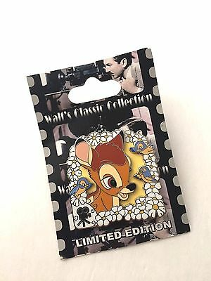 NEW RARE DISNEY WALT'S CLASSIC COLLECTION Bambi Limited Edition Pin