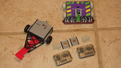 Hexbug Battlebots IR Tombstone and Witch Doctor Interactive Micro Robotic Toys