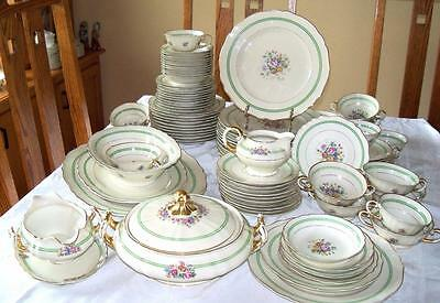 K & A Krautheim Selb Bavaria Musetta China Dinner Service for 10 Plus 95 Pieces