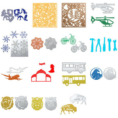 Vehicle Animal Metal Stencil Cutting Die DIY Scrapbooking Album Paper Card Craft