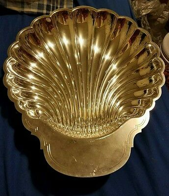 Wm. Rogers Silverplate #895 Shell Tray Vintage Fruit bowl, large bowl