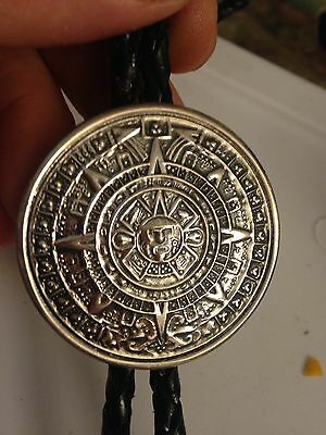 Antique Taxco Sterling 925 Aztec Mayan Calendar Money Clip 23.4 G