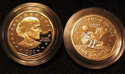 1999-P GEM PROOF S.B.  Anthony Dollar in US Mint packaging (TF17)