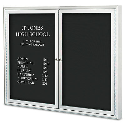 "Enclosed Directory Board, 48""""w X 36""""h, Aluminum Frame"
