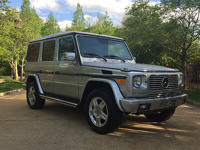 2004 Mercedes-Benz G-Class Base Sport Utility 4-Door low mile g500 free shipping warranty clean cheap collector rare 4x4 luxury g 500