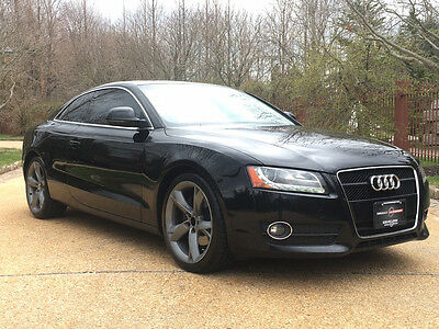 2009 Audi A5 Base Coupe 2-Door low mile free shipping warranty clean 2 owner dealer serviced luxury quattro awd