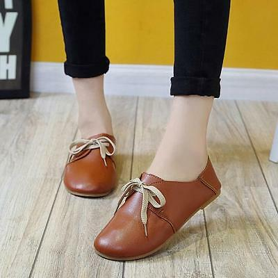 Women Comfort Flats Shoes Slip On Flat Shoe Loafers Boat Shoes Espadrilles D1
