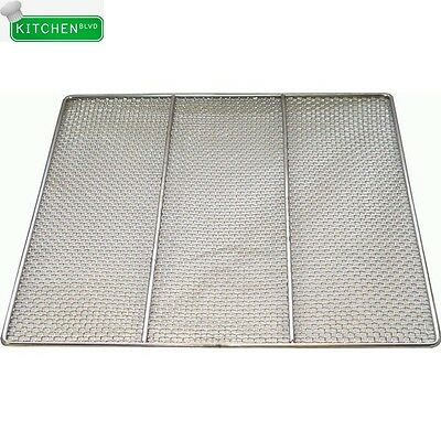 "Stainless Steel Donut Frying Screen 23""W x 23""L Heavy Duty"