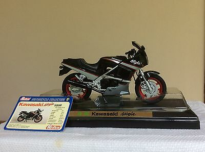 Kawasaki Ninja 1:12 die-cast model motocycle in box