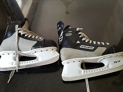 pre owned bauer Silver Pro ice skates size 7.5 uk