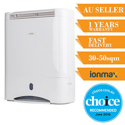 Ionmax ION632 Desiccant Dehumidifier Nano Filter Reduce Moisture & Mould