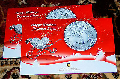 Canada 2012 $20 for $20 Fine Silver Coin - 'Magical Reindeer'