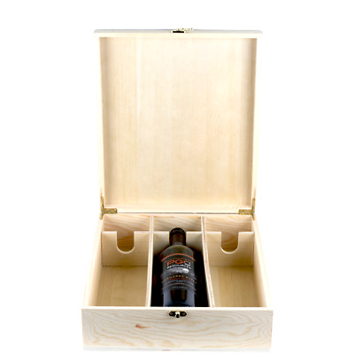 Premium Timber 3x Bottle Wine Gift Box