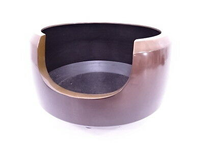 3058353: Japanese Tea Ceremony / Facetting Copper Brazier / Furo