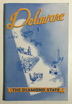 Delaware - The Diamond State, Vintage State Board of Agriculture Booklet, 1948