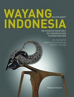 Wayang Indonesia - Walter Angst - 9783797705341 DHL-Versand PORTOFREI