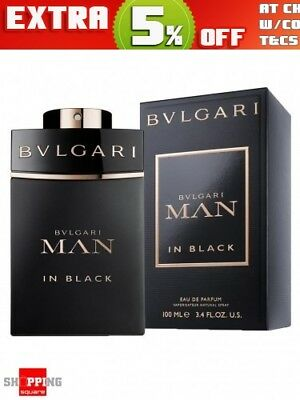 Bvlgari Man In Black 100ml EDP Spray by BVLGARI Men Perfume NEW BNIB