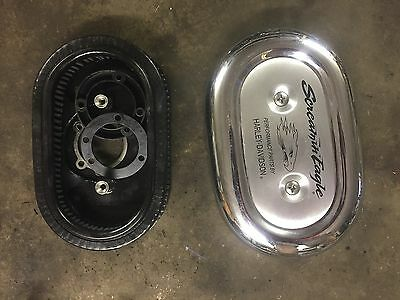 2000 Harley Davidson Sportster XL 883 XL883 Screaming Eagle Air Filter Cover