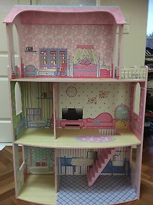 Doll House Beautiful Big Barbie As New