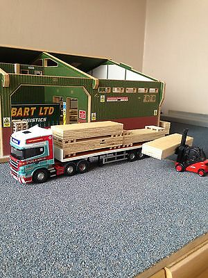 1:50 Scale Truck Plywood Load Ideal Code 3 Diorama