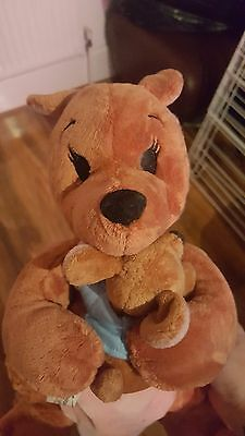 Official Disney Store Kanga and Roo from Winnie the Pooh plush soft toy- tags
